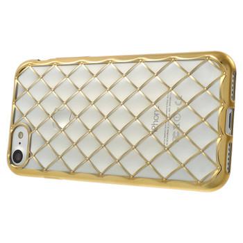 iPhone 7 Luxury Gel Soft Case Gold