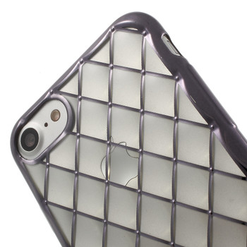iPhone 7 Luxury Soft Case Clear Black
