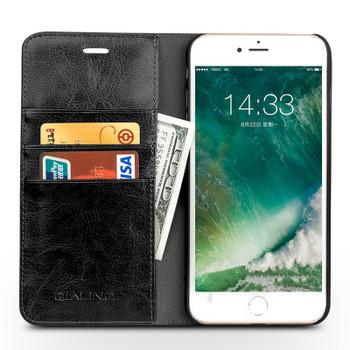 Qialino iPhone 7 Luxury Handmade Leather Case