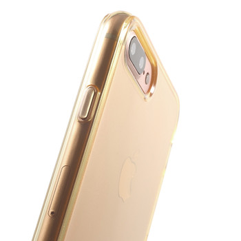 iPhone 7 PLUS Silicone Cover Case Gold
