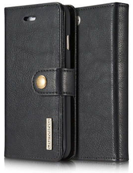 iPhone 7 Leather Wallet With Removable Case
