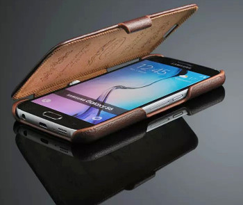 Samsung S6 Leather Flip Cover