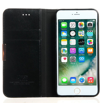 iPhone 7 PLUS Size Premium Leather Wallet Case