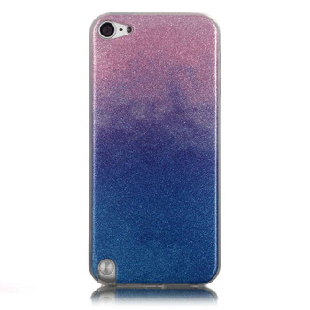 iPod Touch 6/5 Glitter Silicone Case Blue