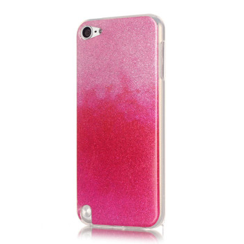 iPod Touch 6/5 Glitter Silicone Case Pink
