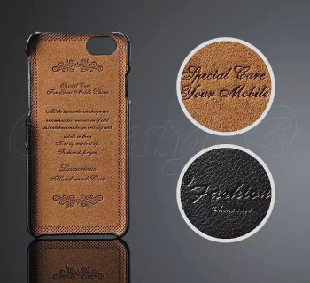 iPhone 7 Genuine Leather Layer Hard Case