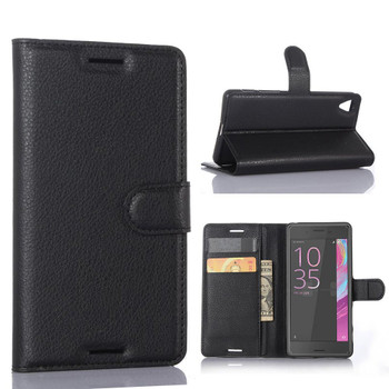 Sony Xperia XZ Leather Wallet