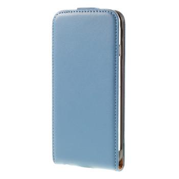 iPhone 6S 6 Leather Flip Case Blue