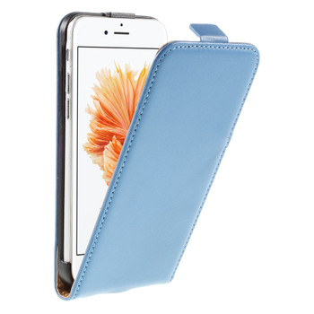 iPhone 6S Leather Case Blue