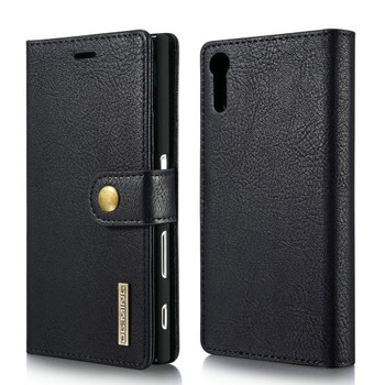 Sony Xperia XZ Luxury Leather Case+Back Cover