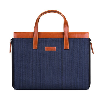 Oxford Carry HandBag Sleeve Case Blue for MacBook Pro/Air 13 Inch