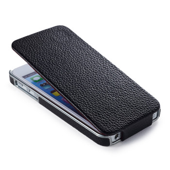 iCarer iPhone 5S 5 Real Leather Luxury Flip Case