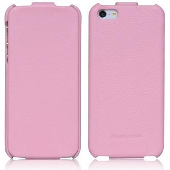 iPhone 5S 5 Flip Case Light Pink
