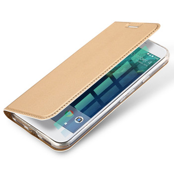 Google Pixel Flip Case Cover Gold