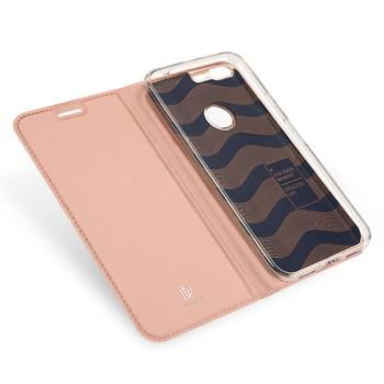Google Pixel Flip Case Cover Rose Gold