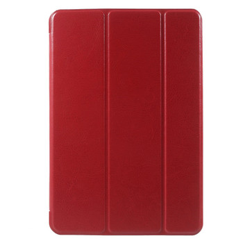 iPad Mini 3 2 Smart Leather Case Red