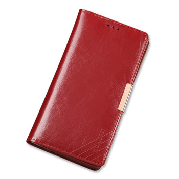 Sony Xperia XZ Deluxe Soft Leather Case Red