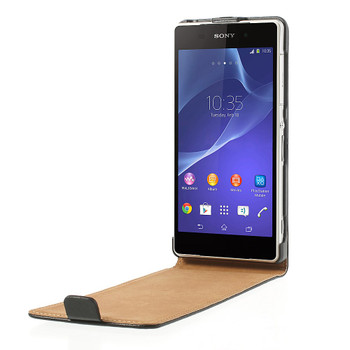 Sony Xperia Z2 Leather Flip Case