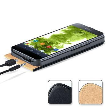 Sony Xperia Z5 Compact/Mini Leather Flip Case