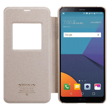 Nillkin LG G6 Window Smart Case Cover Gold