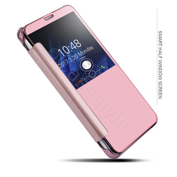 Samsung Galaxy S8 Smart Wake Sleep Case Cover Pink