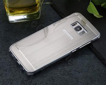 Samsung Galaxy S8 Aluminum Metal Bumper Case Silver