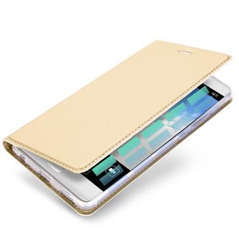 Huawei P10 Flip Case Gold