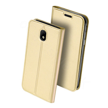 Samsung Galaxy J3 2017 Case Cover Gold