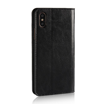 iPhone X Genuine Leather Wallet Case Cover