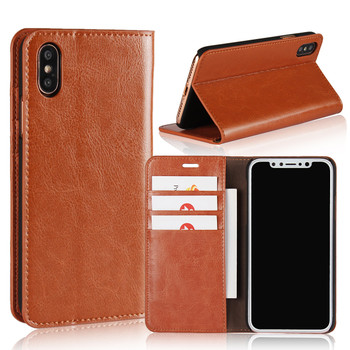iPhone X Leather Wallet