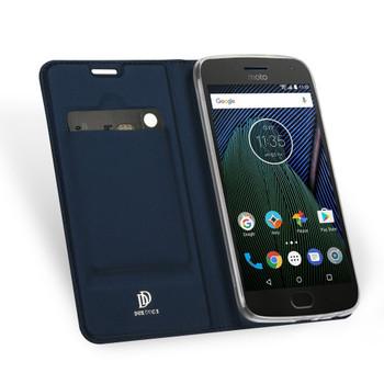Motorola Moto G5S Cover Case Blue