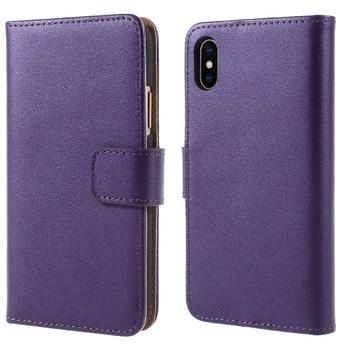 iPhone X Wallet Case Purple