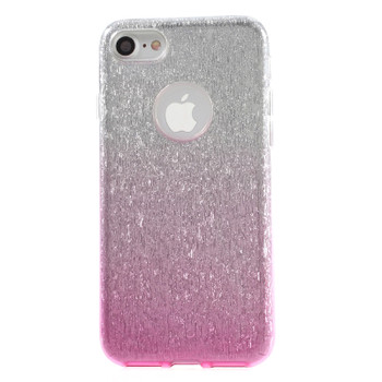 iPhone 8 Glitter Bling Case Cover Pink