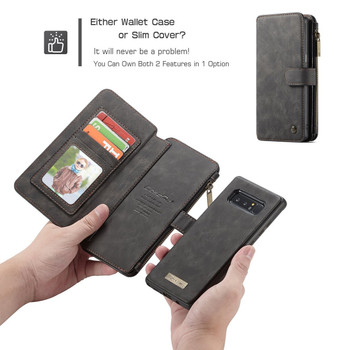 Samsung Galaxy Note 8 Multi-Card Leather Case Cover