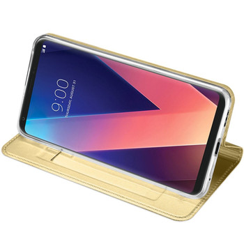 LG V30 Case Cover Gold