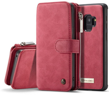 Samsung S9 Wallet Leather Case
