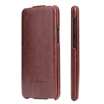 Samsung Galaxy S9 Flip Case Brown