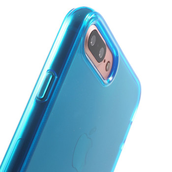 "iPhone 8+""Plus"" Rubbery Case Cover Blue"