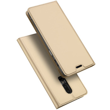 OnePlus 6 Case Flip Cover Gold