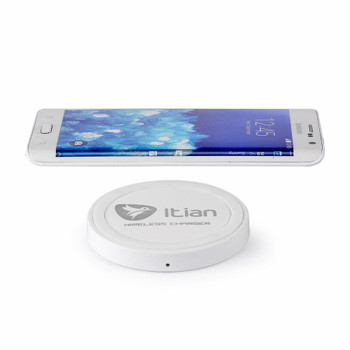 Wireless Charger Qi for Samsung Galaxy S8/S8+Plus-White