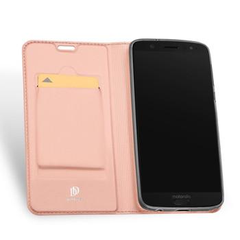 Moto G6 Plus Case Cover Soft Pink
