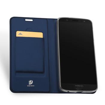 Moto G6 Plus Case Cover Blue