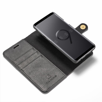"""Samsung Galaxy S9+""""Plus"""" Leather Wallet Case & Back Cover"""