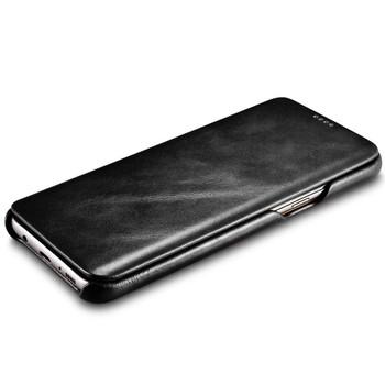 "Samsung Galaxy S8+""Plus"" Cowhide Leather Flip Case"