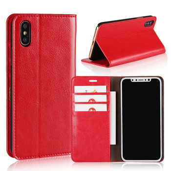 iPhone Xs Genuine Leather Wallet