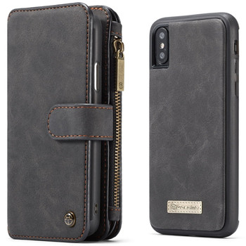 iPhone XS Leather Case Wallet 14 Card Slots Cover