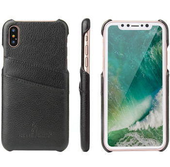iPhone Xs Leather Holder