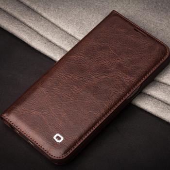 Qialino Samsung Galaxy S7 Luxury Leather Case Brown