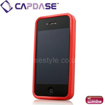 Capdase iPhone 4S Alumor Metal Case Red