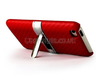 iPod Touch 4G Stand Case Red
